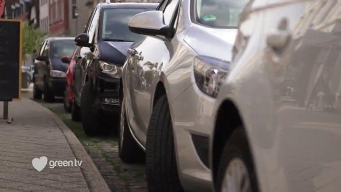 Die Parkplatz-Umnutzerin
