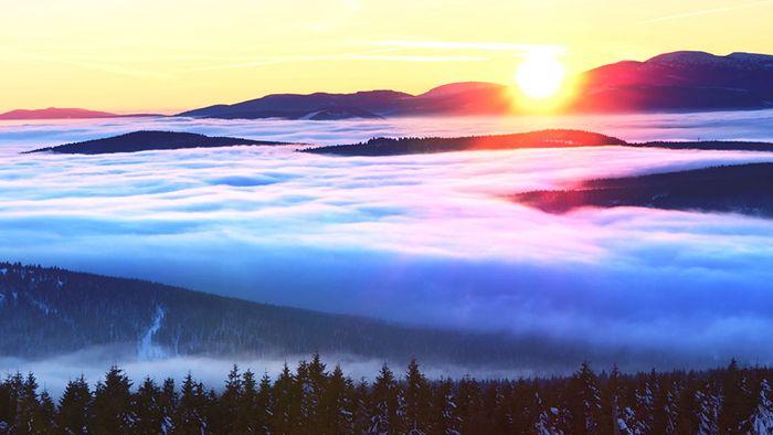 So entsteht Nebel - Alles über die Inversionswetterlage