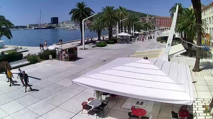 HD Live Webcam Split - Riva Hrvatskog preporoda