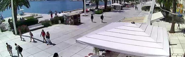 Livecam Split - Riva Hrvatskog preporoda