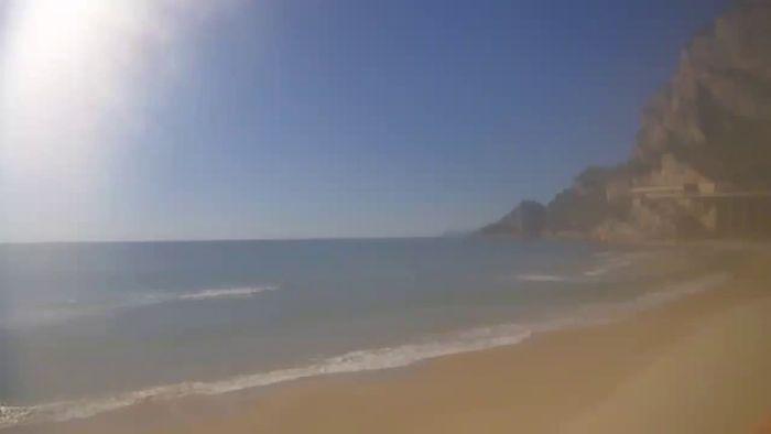 HD Live Webcam Gaeta - Beach S.Agostino
