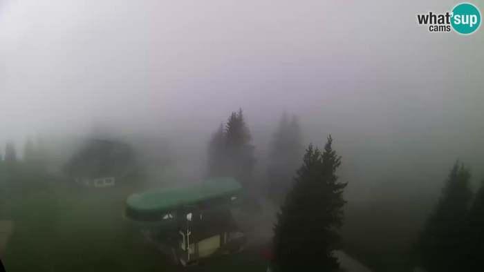 HD Live Webcam Ski Cerkno - Počivalo