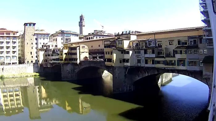 HD Live Webcam Firenze - Ponte Vecchio - Old Bridge