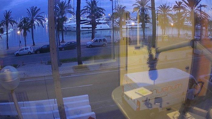 HD Live Webcam Palma - Paseo Maritimo - Mallorca