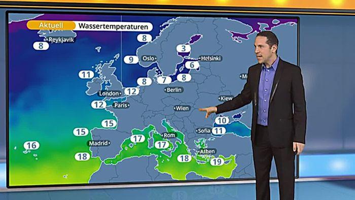 Wie Wassertemperaturen unser Wetter beeinflussen