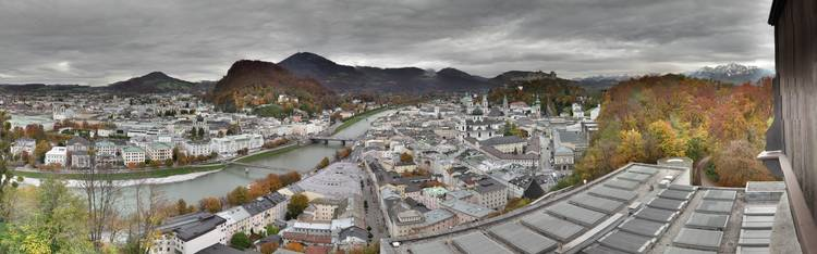 Livecam Salzburg - Mönchsberg - Museum der Moderne