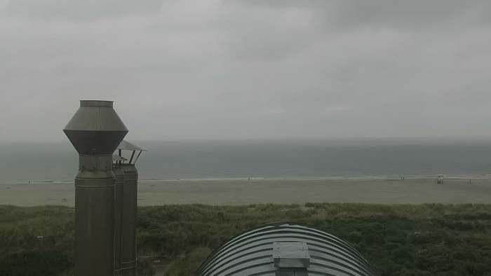 HD Live Webcam Insel Juist - Strandpromenade - Juister Hof