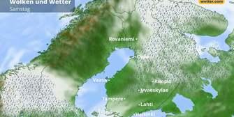 Skandinavien- und Finnland-Wetter