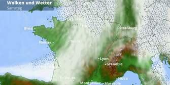 Frankreich-Wetter