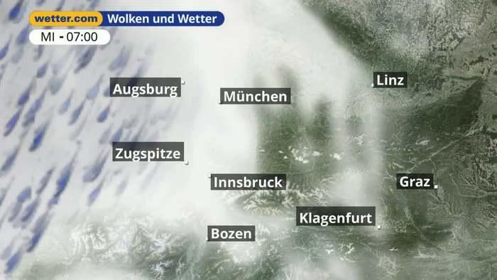 Alpenvorland: Dein Wetter für Deine Region!