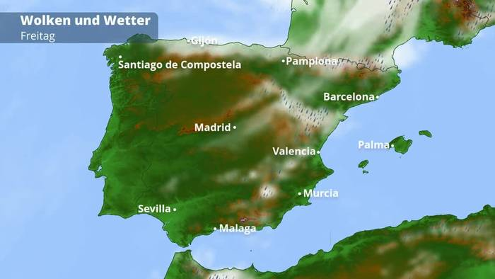 Spanien-Wetter