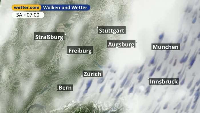 Bay. Schwaben / Ingolstadt: Dein Wetter für Deine Region!