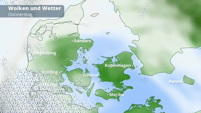 Wetter Blåvand Dänemark