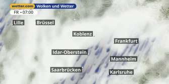 Rheinland-Pfalz und Saarland: Dein Wetter für Deine Region!