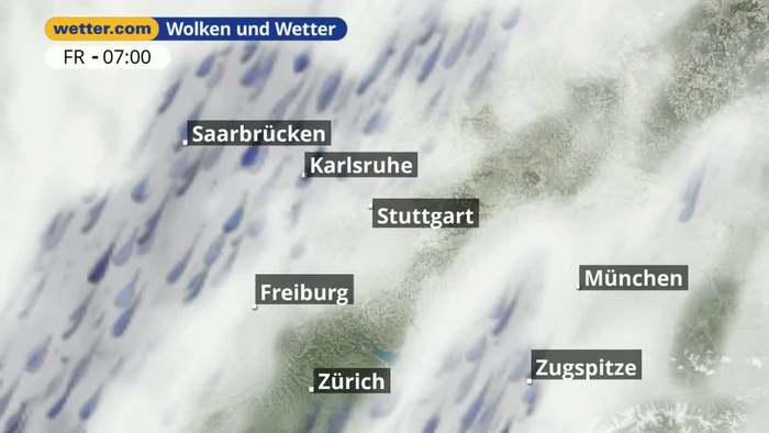 Stuttgart / Württemberg: Dein Wetter für Deine Region!