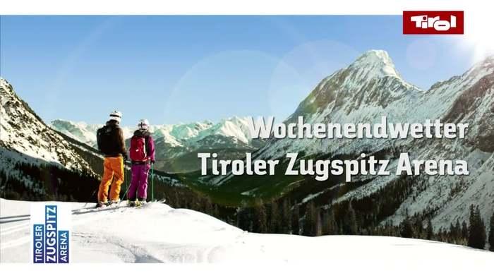 Tiroler Zugspitz Arena Wochenendwetter