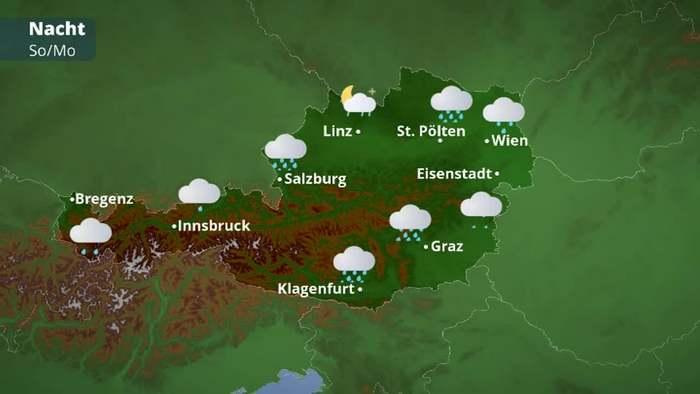 Österreichwetter: Sonnengenuss zur Wochenmitte