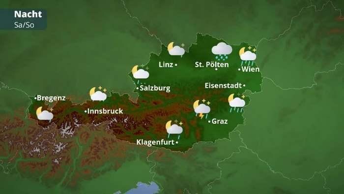 Österreichwetter: Unwettergefahr steigt wieder