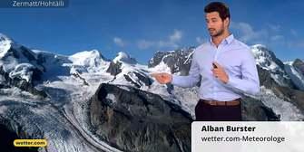 Schweizwetter: Nasser Wochenstart mit Regen und Schnee