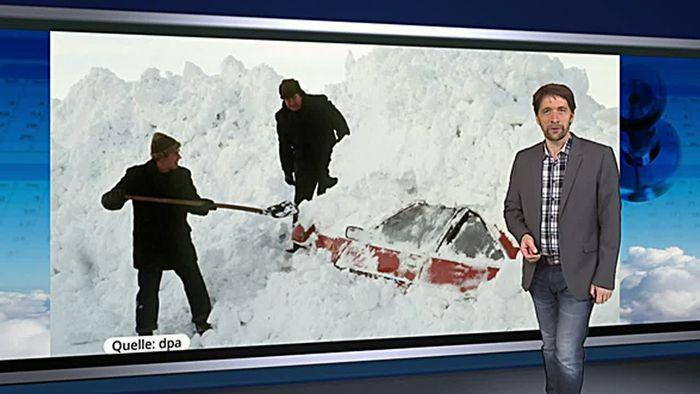 Deutschland versinkt im Schnee