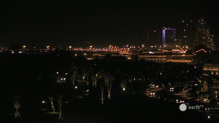 HD Live Webcam Doha - Wolkenkratzer im Diplomatenviertel