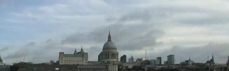 Livecam London - Themse und Millenium Bridge