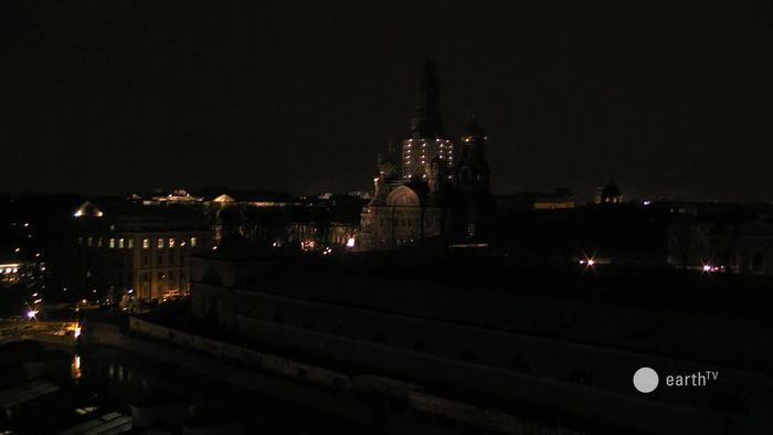 HD Live Webcam Sankt Petersburg - Blutskirche und Isaakskathedrale