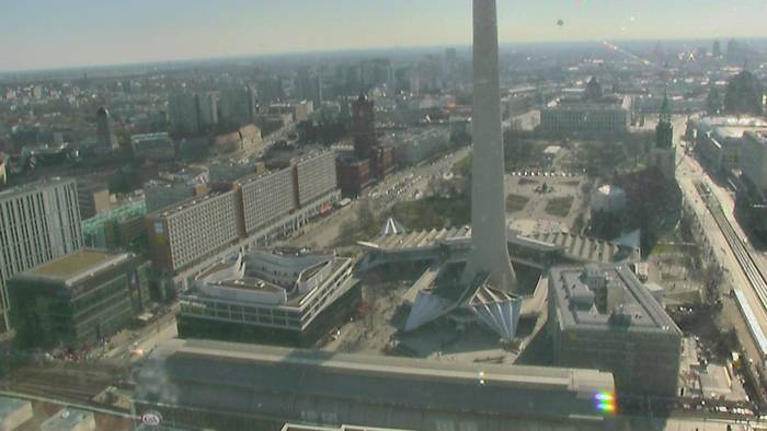 HD Live Webcam Berlin - Alexanderplatz - Fernsehturm