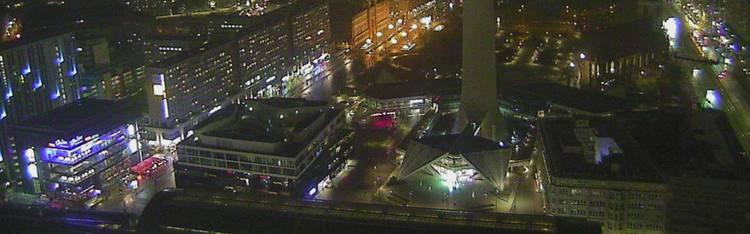 Livecam Berlin - Alexanderplatz - Fernsehturm