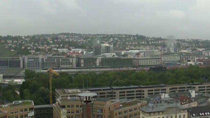 HD Live Webcam Stuttgart - Stuttgart 21 und Schlossgarten