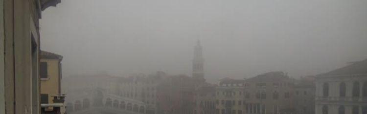 Livecam Venedig - Rialtobrücke und Canal Grande