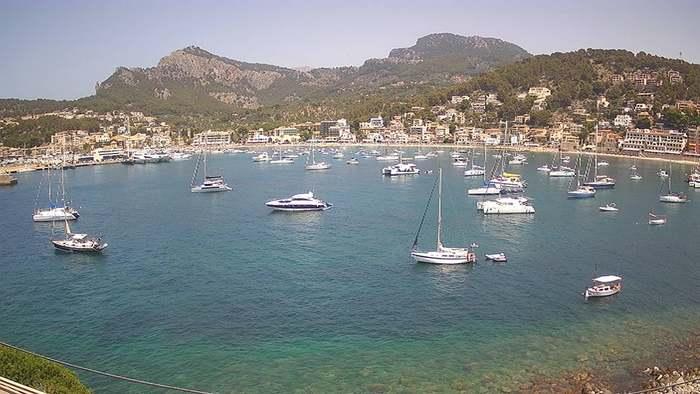 HD Live Webcam Port de Sóller - Serra de Tramuntana - Mallorca