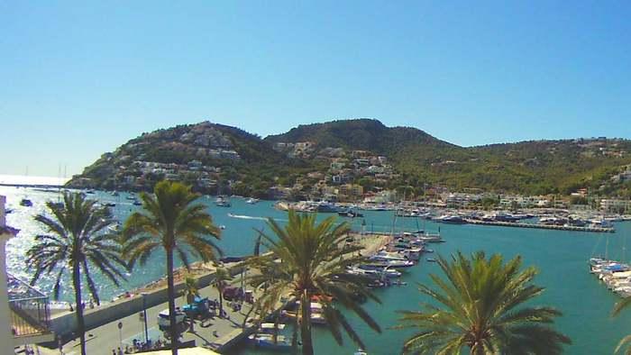 HD Live Webcam Port d'Andratx - Bar Central - Mallorca