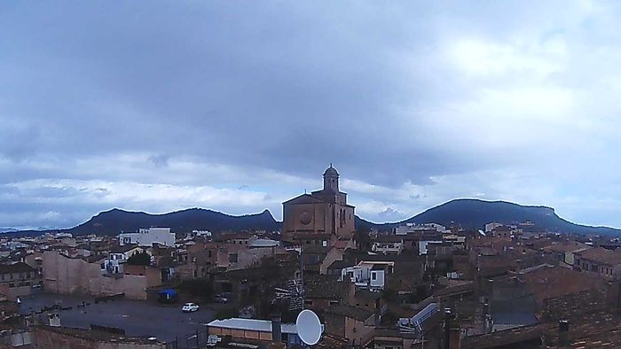 HD Live Webcam Llucmajor Iglesia - Mallorca