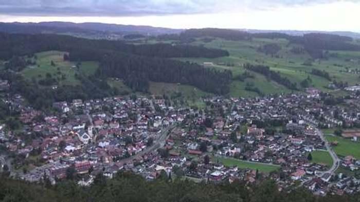 HD Live Webcam Oberstaufen - Oberallgäu - Staufner Berg