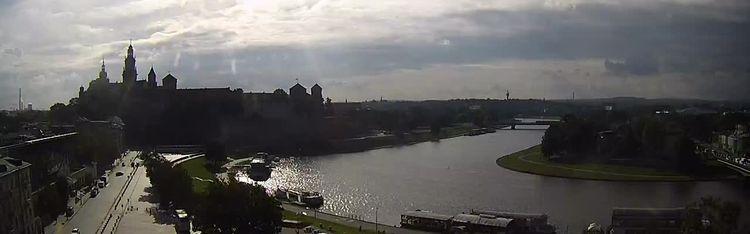 Livecam Krakau an der Weichsel