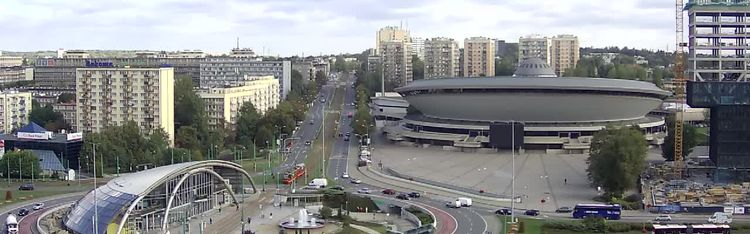 Livecam Katowice - Spodek Arena