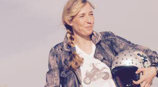 Sabine Holbrook auf dem Nürburgring