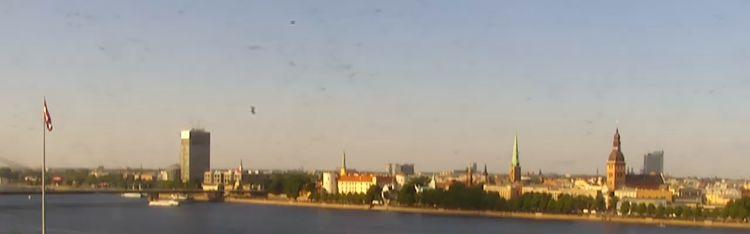 Livecam Riga – Radisson Blu Daugava Hotel - Panorama