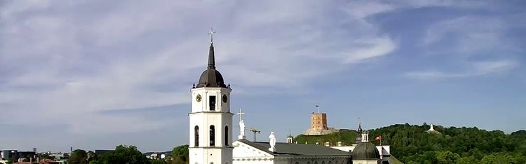 Livecam Vilnius - Kathedralenplatz