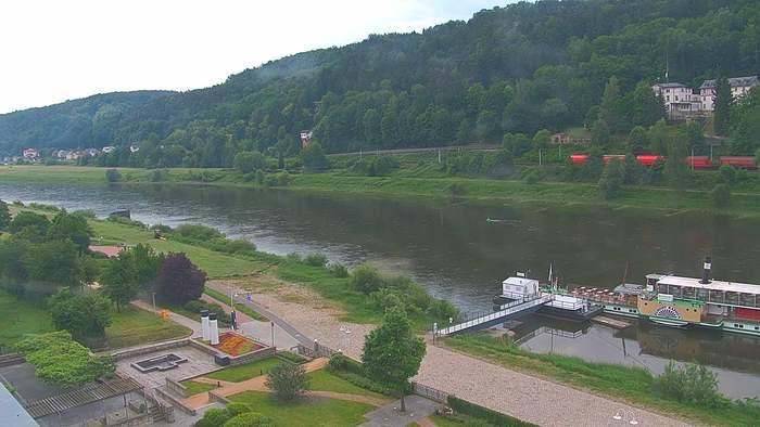 HD Live Webcam Bad Schandau - Sächsische Schweiz - Elbresidenz