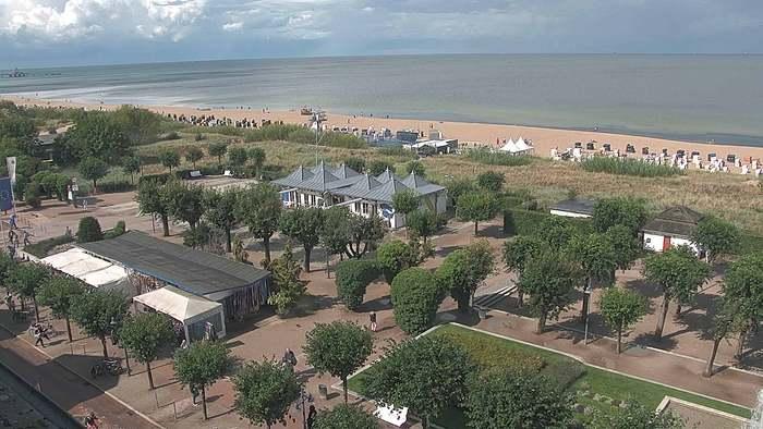 HD Live Webcam Usedom - Seebad Ahlbeck - Heringsdorf - Ahlbecker Hof
