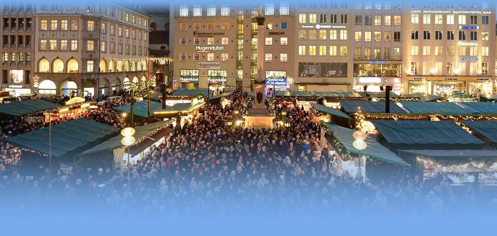 Wetter Weihnachtsmarkt München