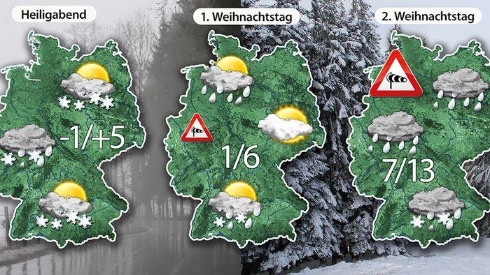 Weihnachtstrend: Weiße Weihnachten möglich! - Videos | wetter.com