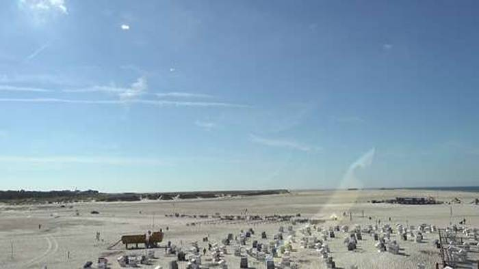 HD Live Webcam St. Peter-Ording - Badestelle Ording