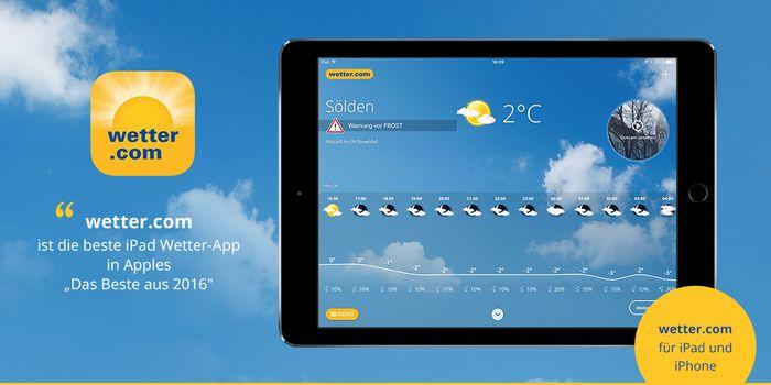 Wetter App Ipad