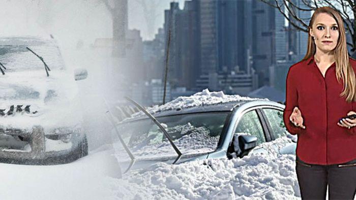 Das unterscheidet einen Blizzard von einem Wintersturm