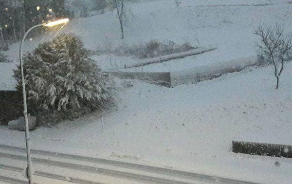 Sturm, Schnee und Glätte durch Tief EGON