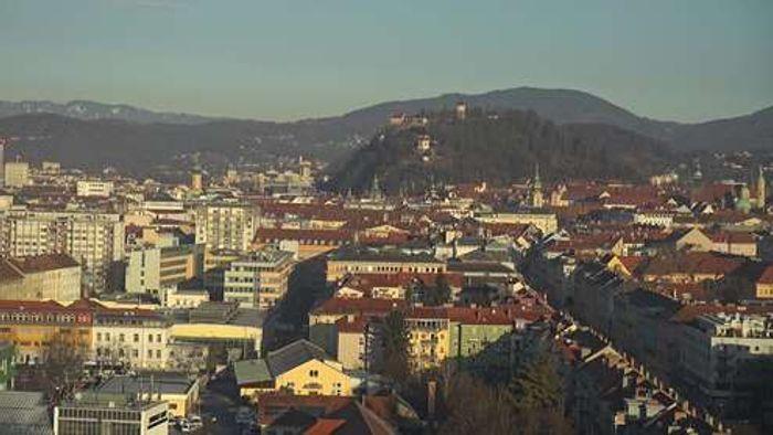 HD Live Webcam Graz - Schlossberg