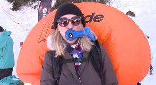 Wintersport-Trends 2017: Schnorchel und Skifahren ohne Ski
